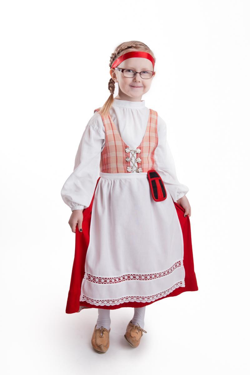 Hämeen tytön puku