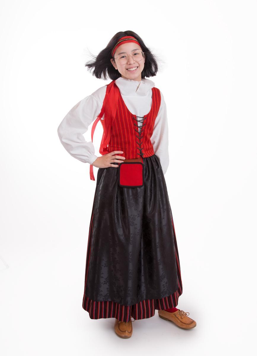 Kymenlaakson tytön puku