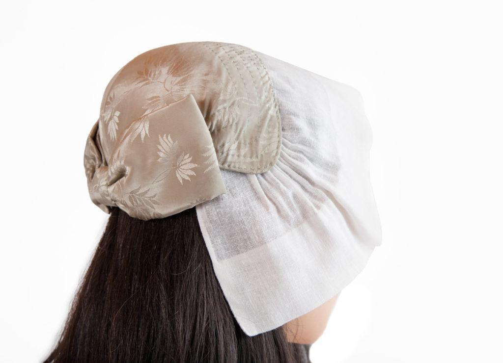 Lammin naisen puvun päähine