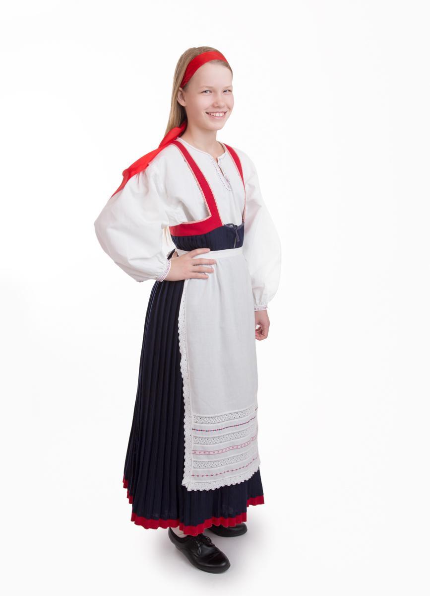 Pyhäjärven tytön puku