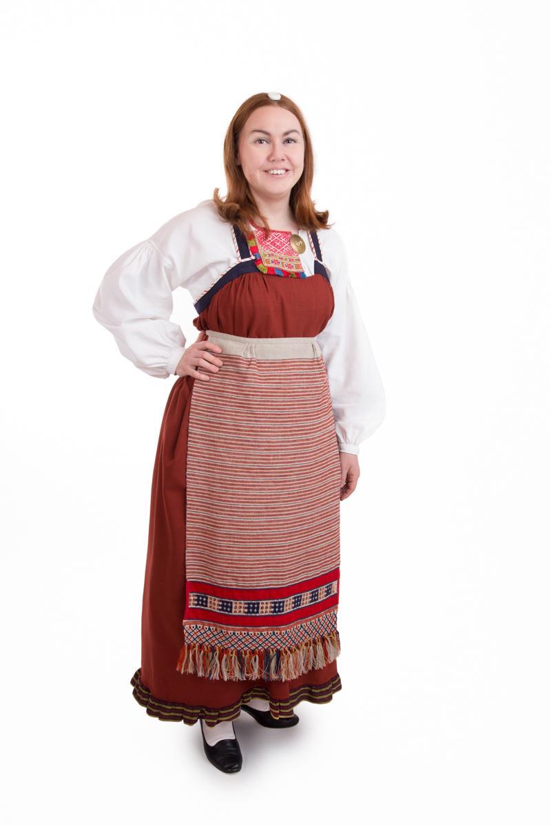 Sakkola-Raudun naisen puku