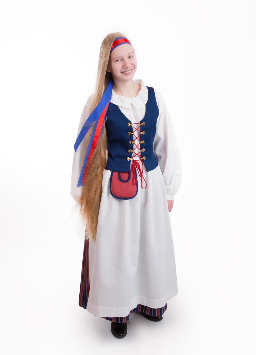 Suomussalmen tytön puku