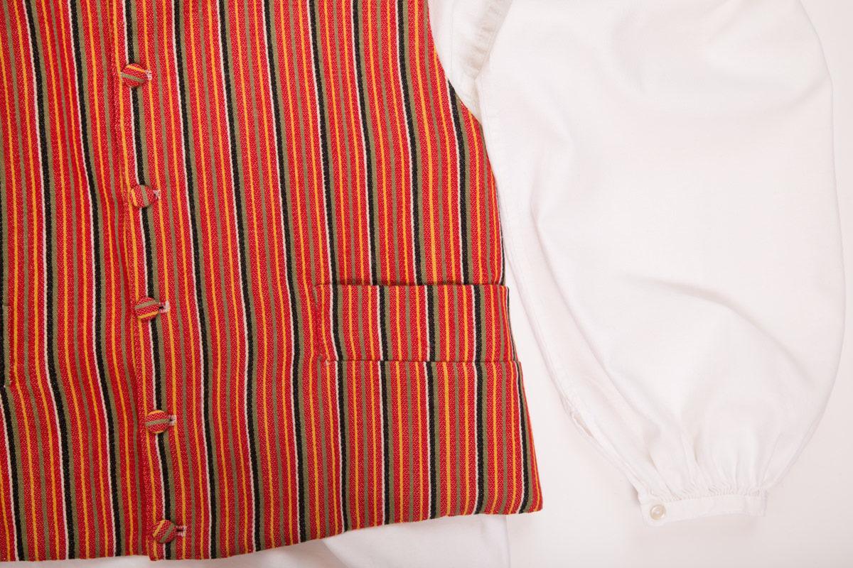 Janakkalan puvun yksityiskohta