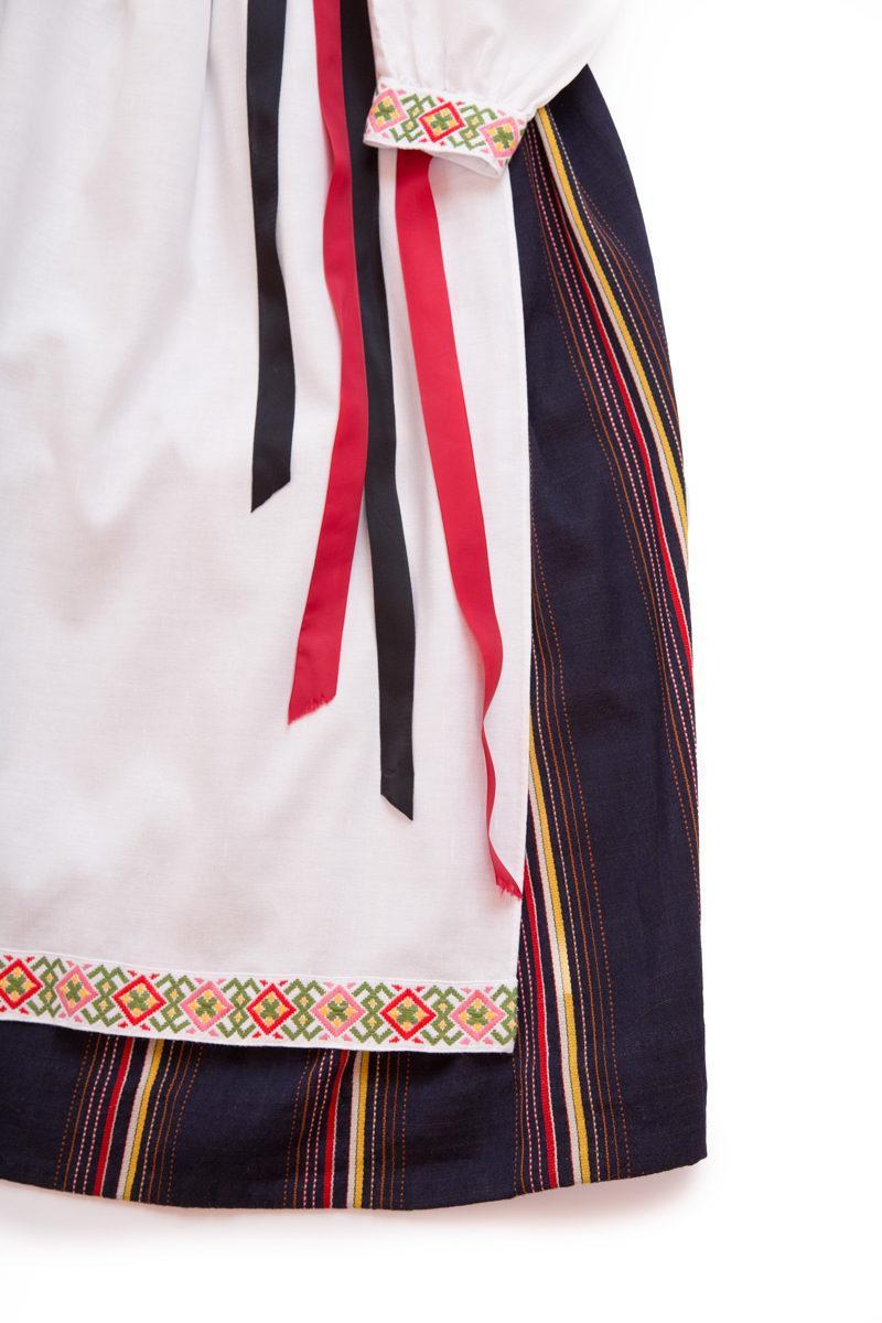 Vanhan Karjalan puvun yksityiskohta
